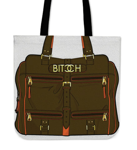 Spoof Bitcch - Cloth Tote Bag - Bags - Epic Goodies Shop