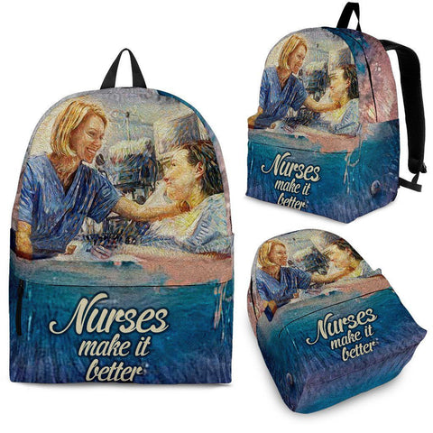 Nurses Make It Better - Nurses - Bags - Epic Goodies Shop