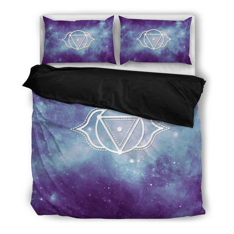 Starry Chakra Indigo - Bedding Set Black - Bedding Set - Epic Goodies Shop