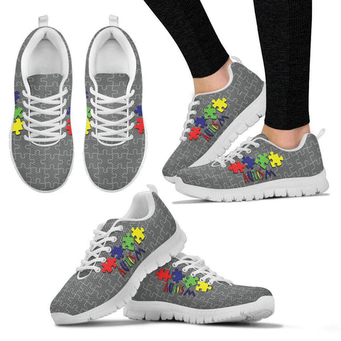 Colors and Grey - Women's Sneaker - Shoes - Epic Goodies Shop