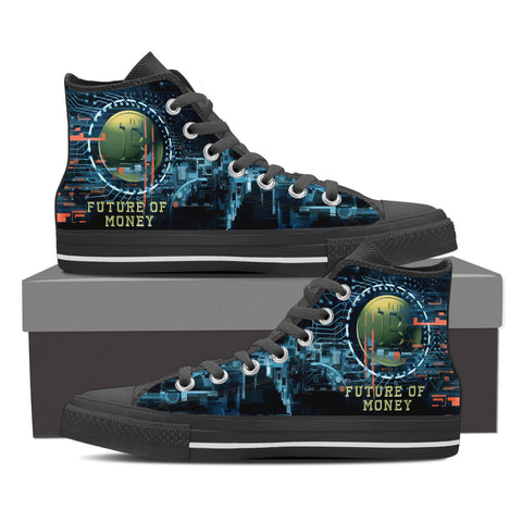 Bitcoin Future Money - Men's High Top - Shoes - Epic Goodies Shop