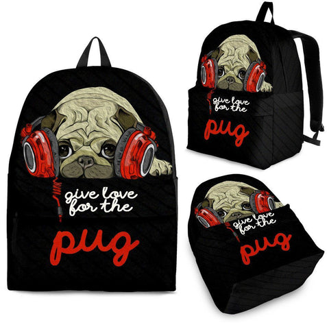 Dogs Love Pug - Bag - Bags - Epic Goodies Shop