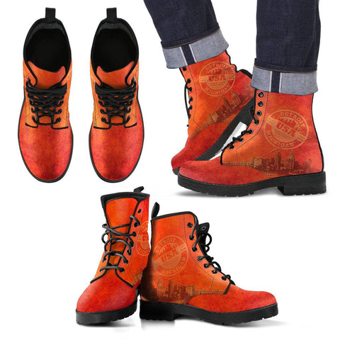 Detroit Skyline Boots - Mens - Shoes - Epic Goodies Shop