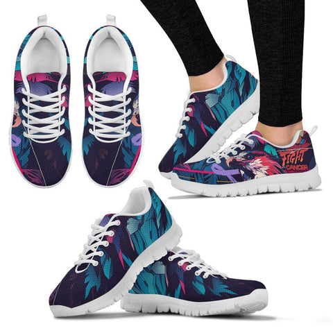 Go Fight Cancer - Women's Sneaker - Shoes - Epic Goodies Shop