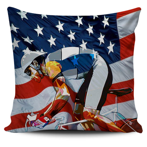 Cycling Pillow Cover Set