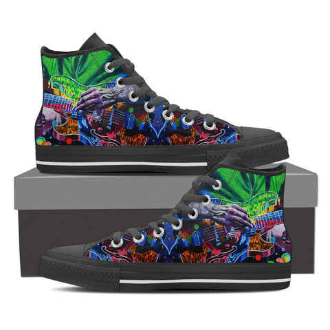 Music Jazzy - High Top Shoes