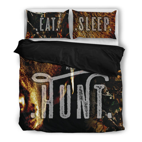 Eat And Sleep Hunter - Bedding Set - Bedding Set - Epic Goodies Shop