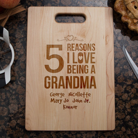 Reasons Cutting Board - Cutting Board - Epic Goodies Shop