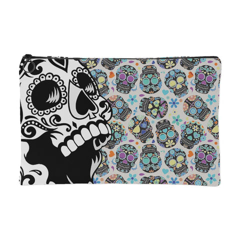 Muerta Color - Sugar Skull Pouch - Accessory Pouches - Epic Goodies Shop