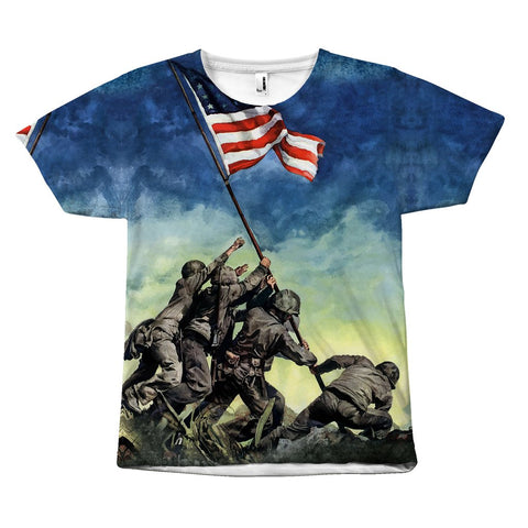 Patriot For Freedom - Tee - All Over Print - Epic Goodies Shop