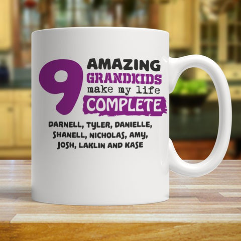 Amazing Grandkids Mug - mugs - Epic Goodies Shop