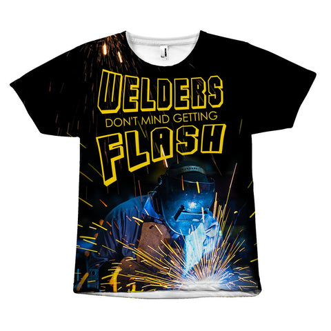 Flashes - Welder Tees - All Over Print - Epic Goodies Shop