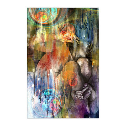 Abstract Women 1 - Poster