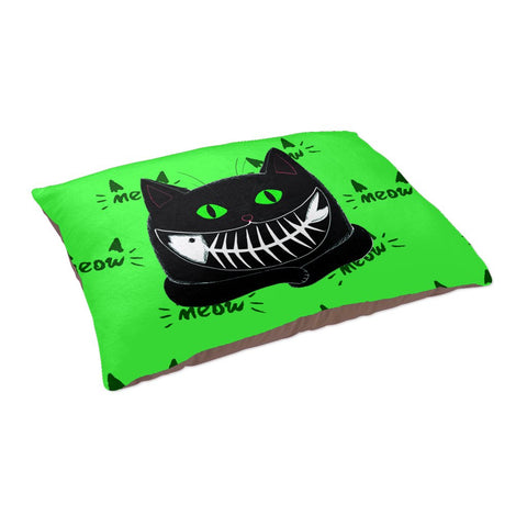 Cats Fishy Grin - Pet Bed - Pet Bed - Epic Goodies Shop