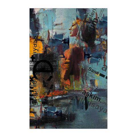 Naked Woman - Abstract Poster - Posters - Epic Goodies Shop