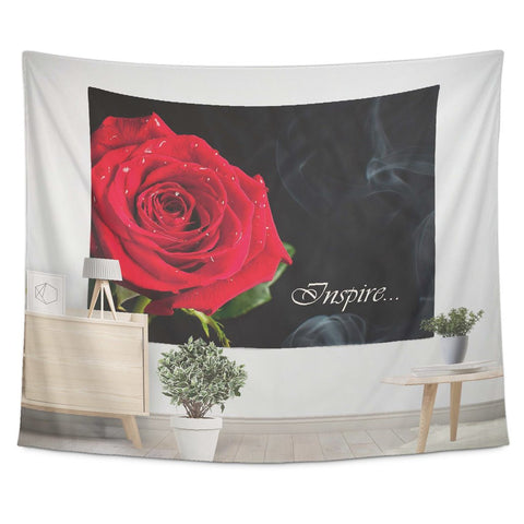 Rose Is Inspiration - Tapestry - Tapestries - Epic Goodies Shop