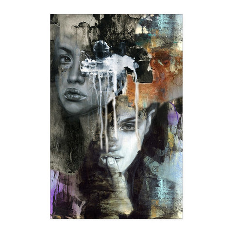 One Eyed Woman - Abstract Poster - Posters - Epic Goodies Shop