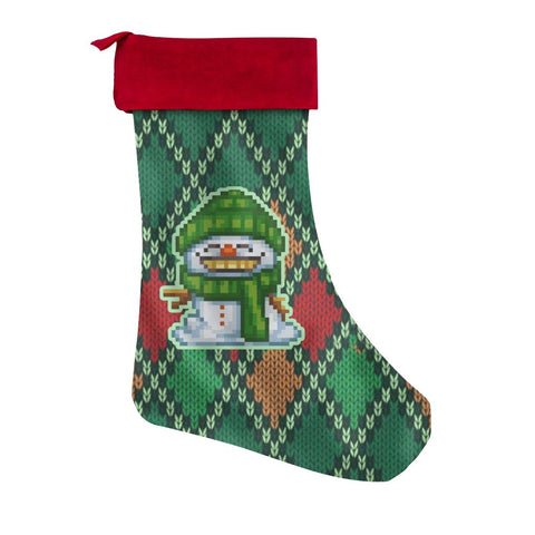 Snowman Grin - Christmas Stockings - Christmas Stockings - Epic Goodies Shop