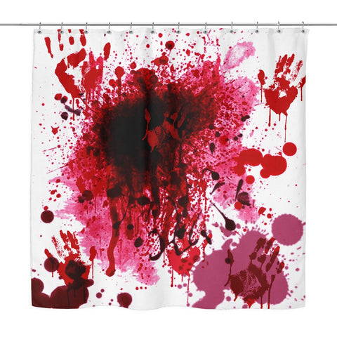 Bloody Shower Curtain - Shower Curtains - Epic Goodies Shop