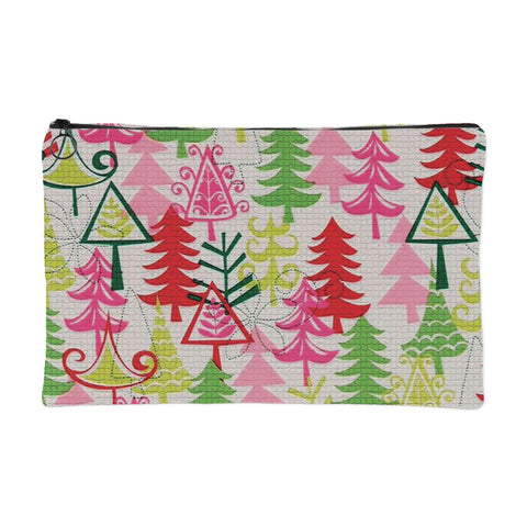 Pine Tree Colors - Christmas Pouch - Accessory Pouches - Epic Goodies Shop