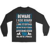 Beware Horses Tees - T-shirt - Epic Goodies Shop
