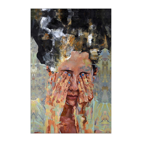 Crying Woman - Abstract Poster - Posters - Epic Goodies Shop