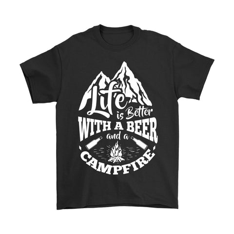 Beer and Campfire - Tees