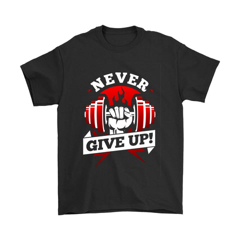 Never Give Up - Tees