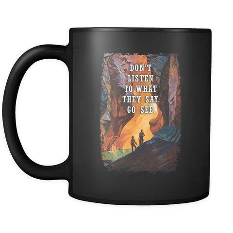 Go See - Travel Mug - Drinkware - Epic Goodies Shop
