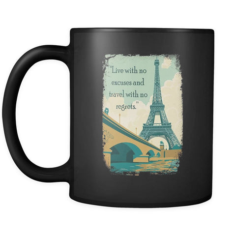 No Regrets - Travel Mug - Drinkware - Epic Goodies Shop