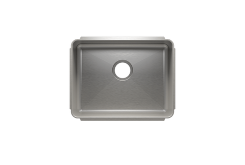 "Classic 22.5"" x 17.5"" x 10"" Undermount Stainless Steel Kitchen Sink"