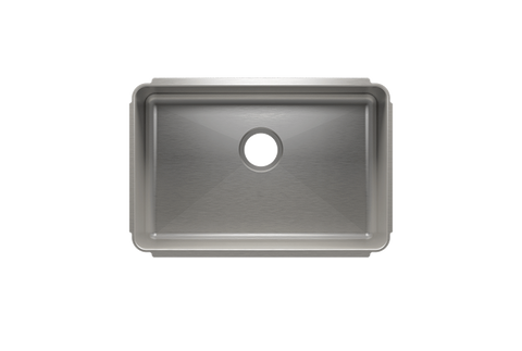 "Classic 25.5"" x 17.5"" x 10"" Undermount Stainless Steel Kitchen Sink"