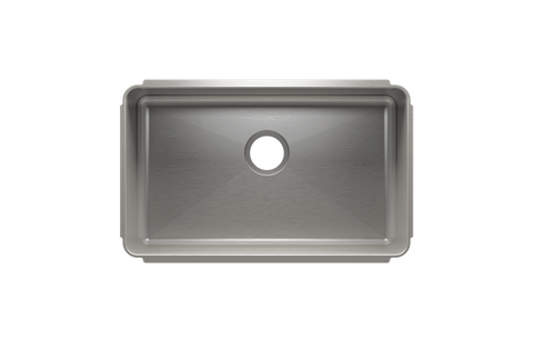 "Classic 28.5"" x 17.5"" x 8"" Undermount Stainless Steel Kitchen Sink"