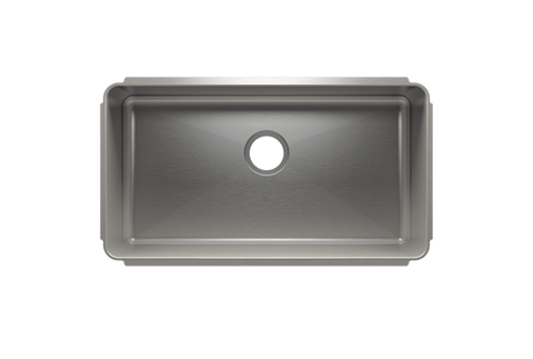 "Classic 31.5"" x 17.5"" x 10"" Undermount Stainless Steel Kitchen Sink"