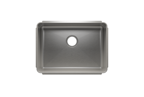 "Classic 25.5"" x 18.5"" x 10"" Undermount Stainless Steel Kitchen Sink"