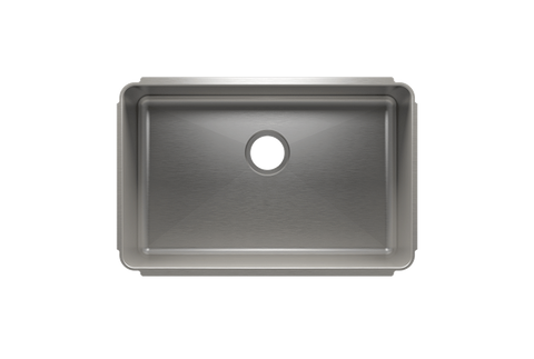 "Classic 28.5"" x 18.5"" x 10"" Undermount Stainless Steel Kitchen Sink"