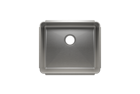 "Classic 22.5"" x 19.5"" x 10"" Undermount Stainless Steel Kitchen Sink"