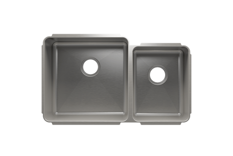 "Classic 32.5"" x 19.5"" x 10"" Undermount Stainless Steel Kitchen Sink"