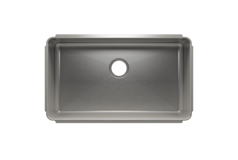 "Classic 31.5"" x 18.5"" x 10"" Undermount Stainless Steel Kitchen Sink"