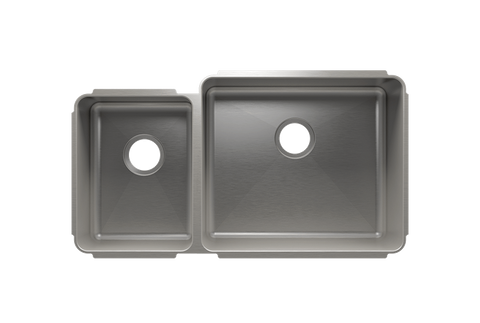 "Classic 35.5"" x 19.5"" x 10"" Undermount Stainless Steel Kitchen Sink"