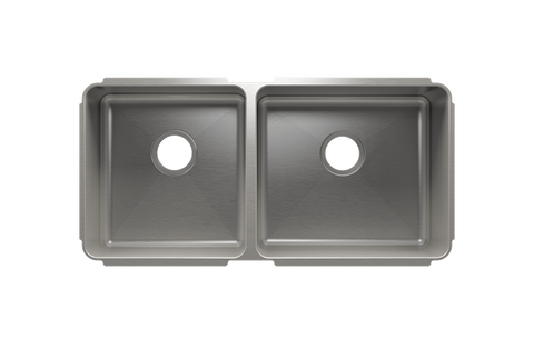 "Classic 35.5"" x 17.5"" x 10"" Undermount Stainless Steel Kitchen Sink"