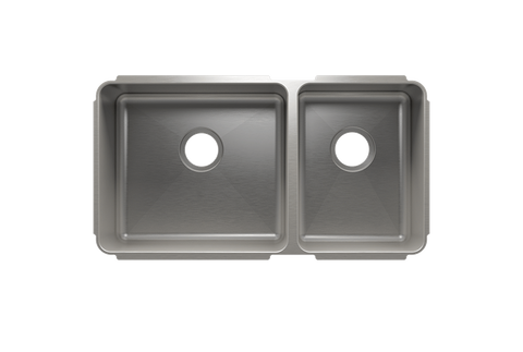 "Classic 32.5"" x 17.5"" x 10"" Undermount Stainless Steel Kitchen Sink"