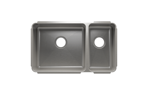 "Classic 29.5"" x 17.5"" x 10"" Undermount Stainless Steel Kitchen Sink"