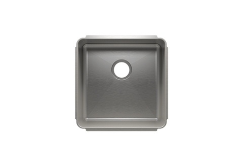 "Classic 19.5"" x 19.5"" x 10"" Undermount Stainless Steel Kitchen Sink"