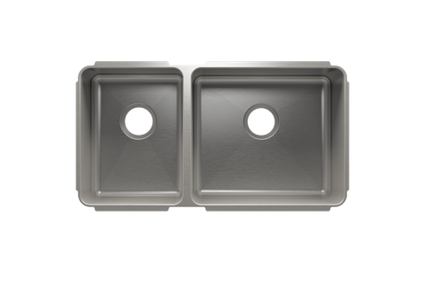 "Classic 32.5"" x 17.5"" x 8"" Undermount Stainless Steel Kitchen Sink"