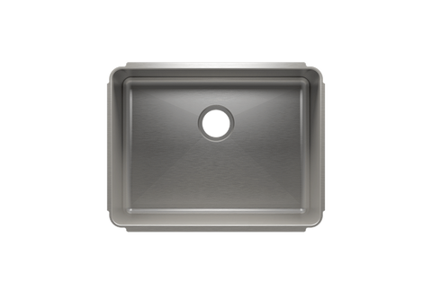"Classic 25.5"" x 19.5"" x 10"" Undermount Stainless Steel Kitchen Sink"
