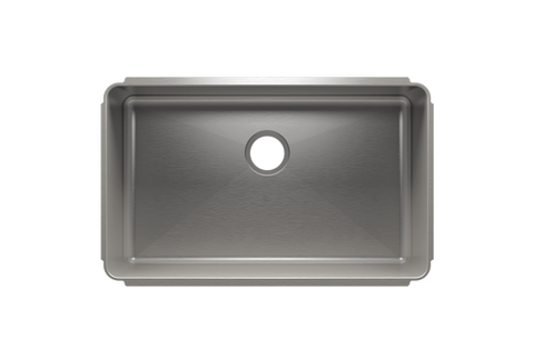 "Classic 31.5"" x 19.5"" x 10"" Undermount Stainless Steel Kitchen Sink"