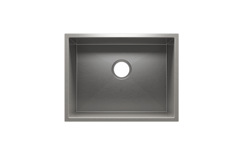"J7 22.5"" x 17.5"" x 12"" Undermount Stainless Steel Utility Sink"