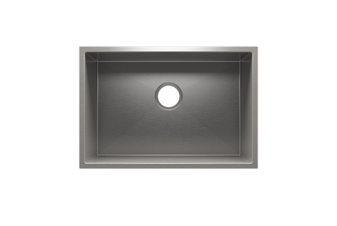 "J7 25.5"" x 17.5"" x 12"" Undermount Stainless Steel Utility Sink"