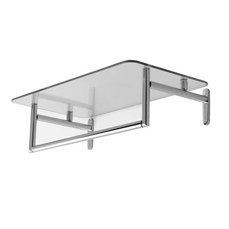Ginger Co Sine 20 Hotel Shelf With Towel Bar Montaggio